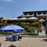 Strand Ansicht Dandidis Seaside Pension